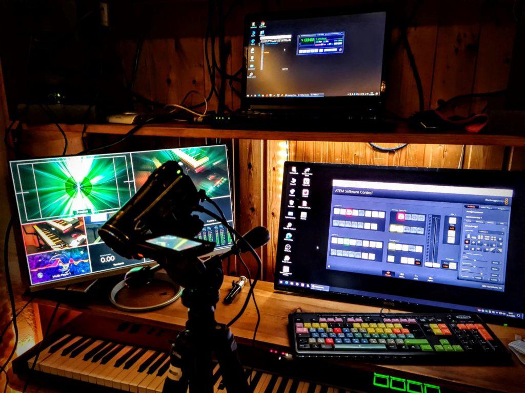 Streaming with Blackmagic Atem Mini Pro